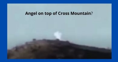 Guardian Angels Caught on Camera: Proof God's Messengers are Near – Angel on top of Cross Mountain in Medjugorje?