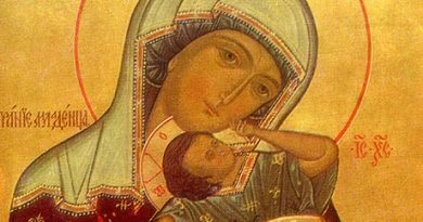 Mary, the Mother of God and Our most caring Mother