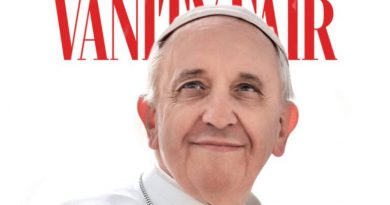 Vanity Fair Features Pope Francis on the cover of January 2021 Magazine