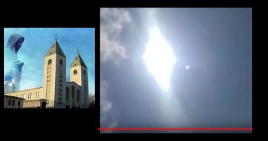 Rare and Amazing  – Powerful Sun Miracle over Medjugorje