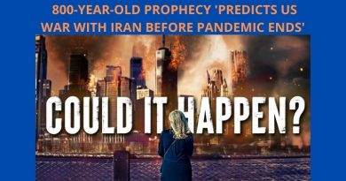 "800-year-old prophecy 'predicts US war with Iran before Covid pandemic ends'  Fighting will bring ""great strife and darkness into the world"""