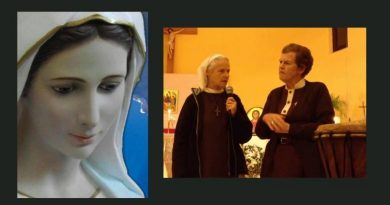"Sr. Briege Mckenna has vision of Our Lady coming to Medjugorje one month before the Queen of Peace reveals herself to the six visionaries ""What I saw behind the altar"""