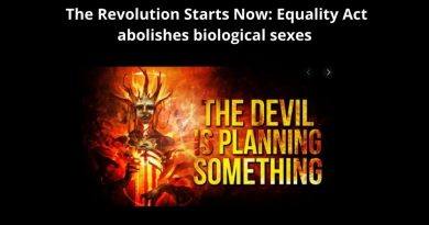 The Antichrist Spirit Has Arrived: President Joe Biden's Most Revolutionary Bill: Equality Act abolishes biological sexes