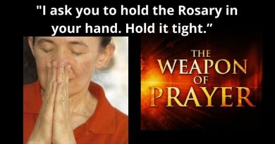 "Medjugorje Message February 24, 2021 Be ready for what is coming tomorrow –   ""I need your prayers! Like never before, I ask you to hold the Rosary in your hand. Hold it tight."" – ""Help me and the Holy Spirit change the face of the earth… Do not shut the doors to Heaven ""  The Queen of Peace"