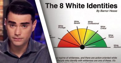 "Ben Shapiro: School Sends Parents INSANE ""White Identities"" Chart"