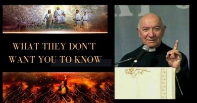"""Satan is chaos in the cosmos. but the Angel of Evil has three limits""…Medjugorje's Fr. Don Renzo Lavatori:   Our Lady Warns: ""The world is at war…the reason lies in ,man's heart, full of selfishness and wickedness, a heart that hurls against its brother and sister."""