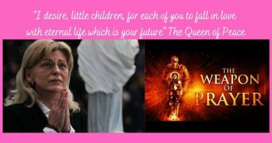 """There is no future for the world"" without these heavenly items…Our Lady reveals how to free yourself of fear of the future"