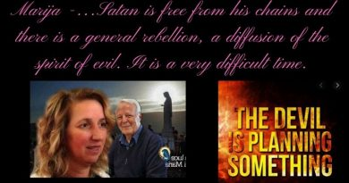 "Marija -""The media goes against God, against the Church.""…Satan is free from his chains and there is a general rebellion, a diffusion of the spirit of evil. It is a very difficult time."