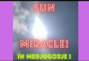 Incredible Sun miracle in Medjugorje on Easter Sunday…