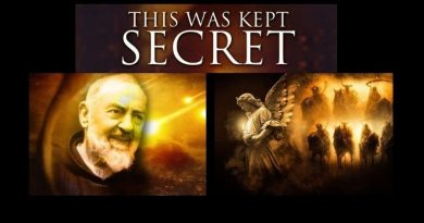 "Jesus' message to Padre Pio about the end of the world – ""THE MONTH Of MAY WILL Be A TRAGIC MONTH."""