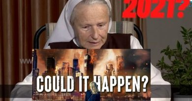 "The Coming Tribulation – Sr. Emmanuel's 2021 Prophecy:  ""It will be a dramatic time… Evil will show its Face… The imminent Time of the Medjugorje Secrets will be a huge manifestation of God's mercy."""