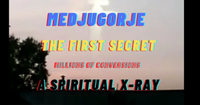 (New Video) A spiritual X-Ray will be one of the first 3 secrets given to the seers by Our Lady. This sign will lead to massive conversion to the faith and the repentance of millions of sinners.