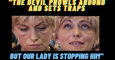 "Medjugorje Today April 27, 2021 (New Video)  Is American becoming possessed? Our Lady Warns: ""The devil prowls around us and sets traps. An invisible war rages all around us."""