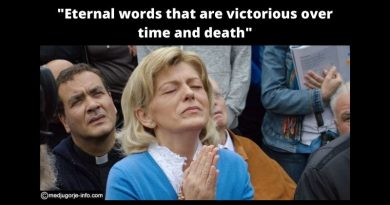 "Medjugorje Today April 21, 2021  From Interview with Mirjana: How to Prepare for Medjugorje's Ten Secrets …""Eternal words that are victorious over time and death"""