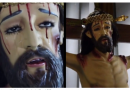 VIRAL VIDEO -Mexico parish with statue of Christ weeping at a priest's funeral. 'Teacher, teacher, come here, the Christ is crying'.