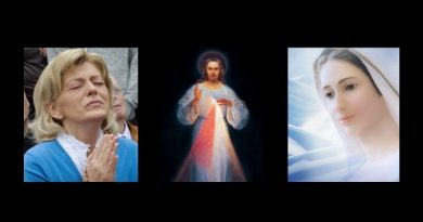 "Rare Divine Mercy Revelation – When Our Lady at Medjugorje Referenced her Son's ""Divine Light""….My heart is crying.., sins are multiplying…My son is being forgotten"""