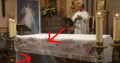 """No doubt""  – Priest Says Divine Mercy Miracle that took place in his church…Visual evidence has gone viral"